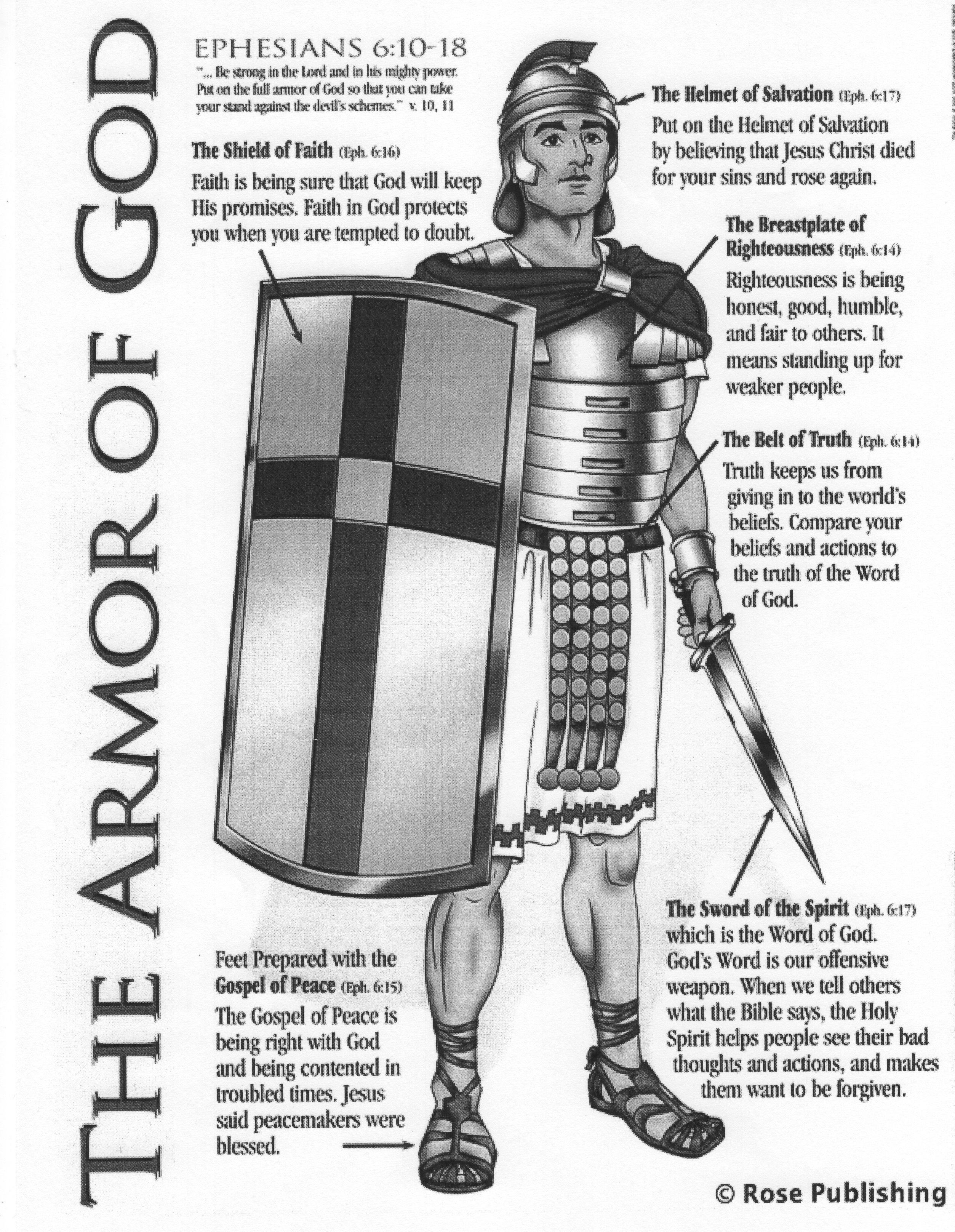 Biblical Restoration Ministries Armor Of God Prayers Topic